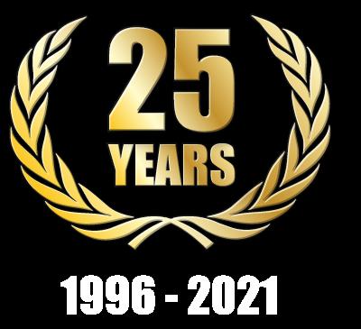 25 Years 1996 - 2021